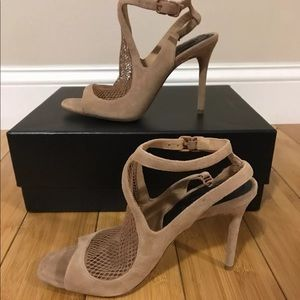 584f47ad26 Alexander Wang Shoes - ♢️Alexander Wang piper suede nude sandals